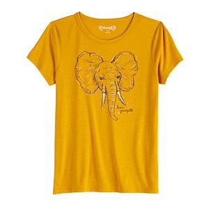 Girls 7-16 Mudd Short Sleeve Graphic Tee