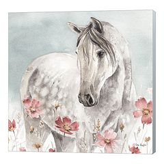 Metaverse Art Wild Horses IV Canvas Wall Art