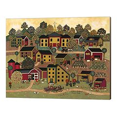 Metaverse Art Farm Life Canvas Wall Art