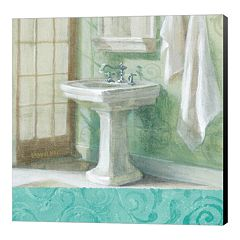 Metaverse Art 'Refresh Bath Border II' Canvas Wall Art