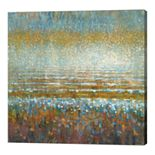 "Metaverse Art ""Rains over the Lake"" Canvas Wall Art"