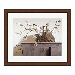 Metaverse Art 'Apple Blossoms' Framed Wall Art