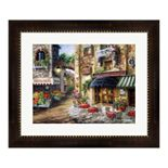 "Metaverse Art ""Buon Appetito"" Framed Wall Art"