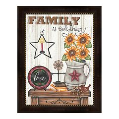 Metaverse Art 'Family is Everything' Framed Wall Art