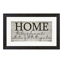 Metaverse Art 'Home' Framed Wall Art