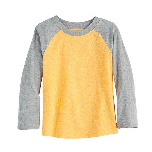 Toddler Boy Jumping Beans® Raglan Long Sleeve Top