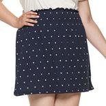 Juniors' SO® Smock Mini Skirt