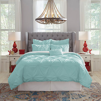 Pointehaven PinTuck Comforter Set