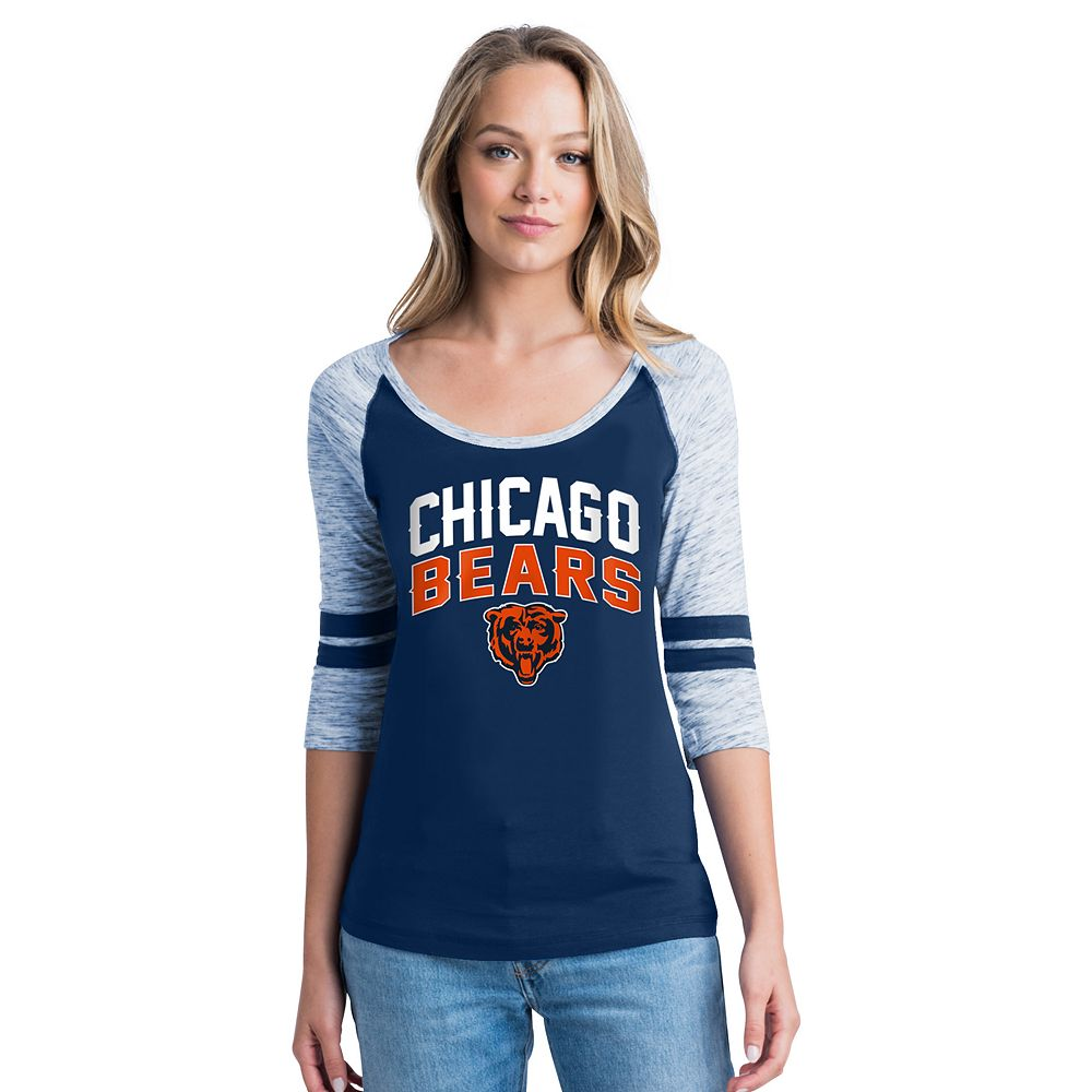 Women's Chicago Bears Emblem Tee