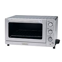 Cuisinart Black Stainless Steel Convection Toaster Oven Broiler