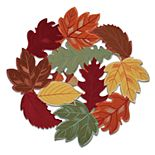 Celebrate Fall Together Cut-Out Autumn Leaves Placemat