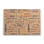 Celebrate Fall Together Word Toss Placemat