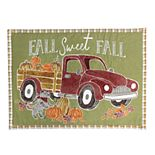 Celebrate Fall Together Vintage Truck Placemat