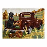 Celebrate Fall Together Harvest Truck Tapestry Placemat