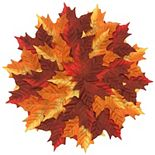 Celebrate Fall Together Pile-of-Leaves Placemat