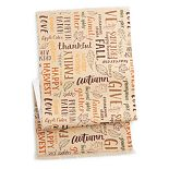 """Celebrate Fall Together Word Toss Table Runner - 36"""""""