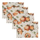 Celebrate Fall Together Pumpkin Placemat 4-pk.