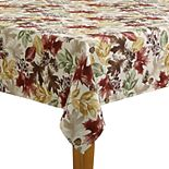 Celebrate Fall Together Autumn Leaves Tablecloth