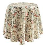 Celebrate Fall Together Lace Leaves Tablecloth