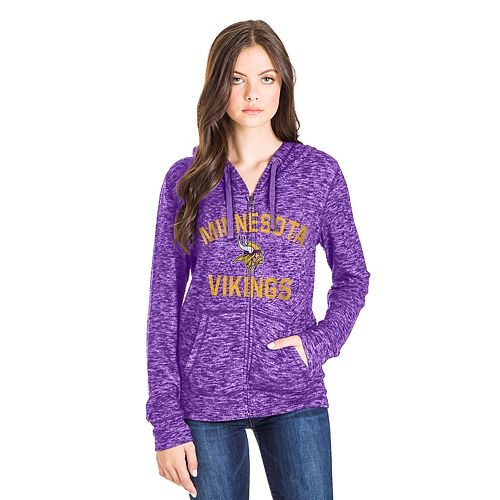 the best attitude 1c0ba 07ecb Women's Minnesota Vikings Zip-Up Hoodie