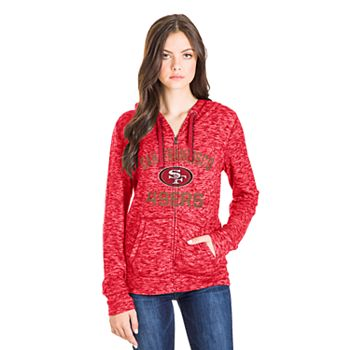 cbfdaf35 Women's San Francisco 49ers Zip-Up Hoodie