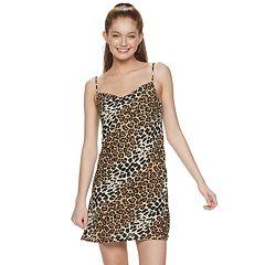 Juniors' Speechless Animal Print Sleeveless Dress