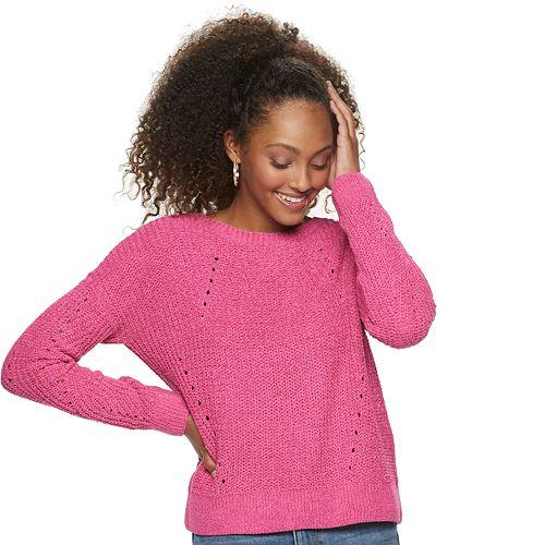 Juniors' So® Matte Chenille Pullover Sweater by Juniors' So