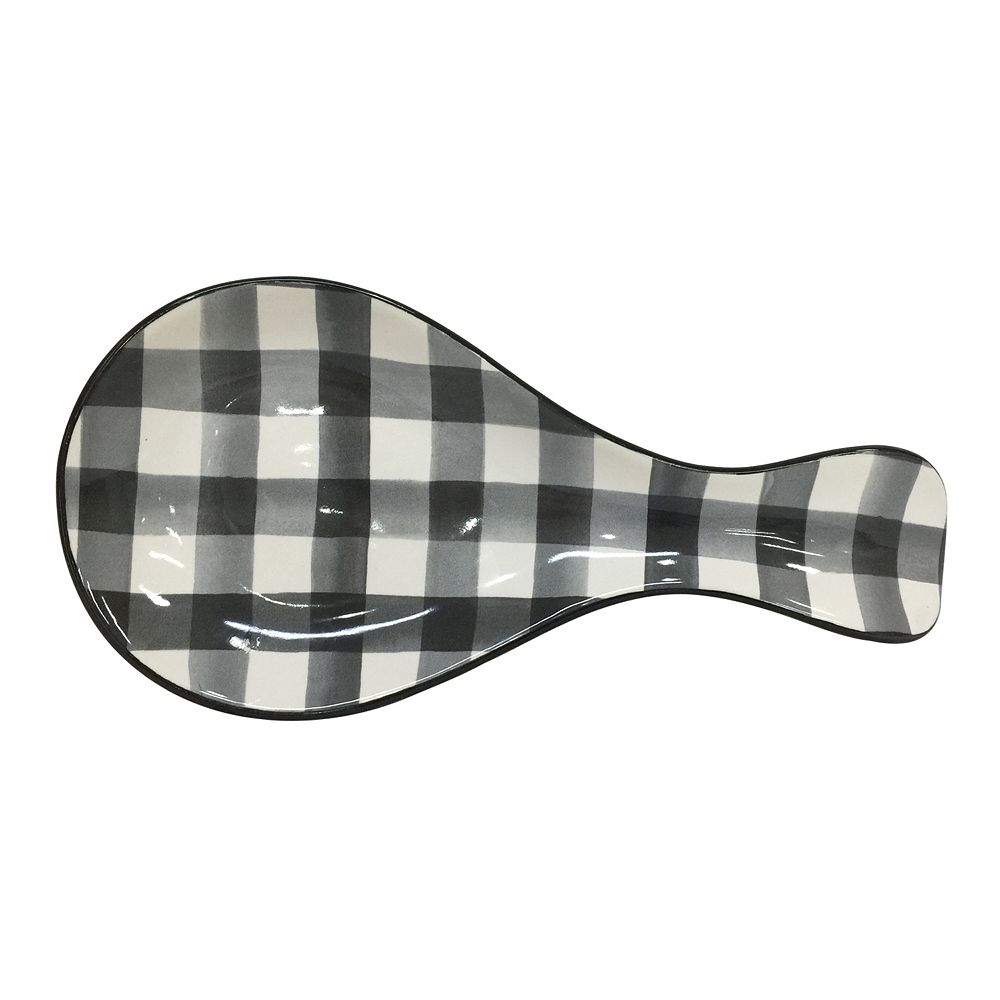 Food Network Buffalo Check Spoon Rest
