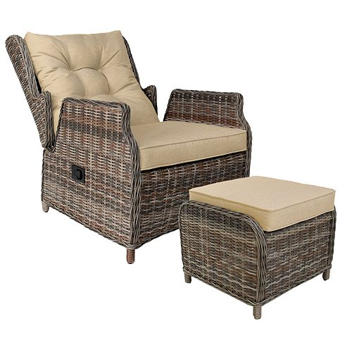 Relax-A-Lounger Chloe Recliner and Table