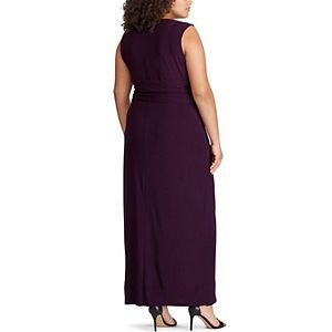 Plus Size Chaps Sleeveless Evening Dress