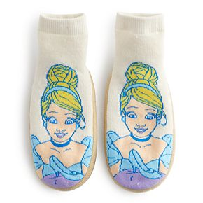 Disney Princess Cinderella Toddler Girl Slipper Socks