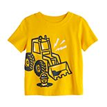 Baby Boy Jumping Beans® Construction Truck Graphic Tee