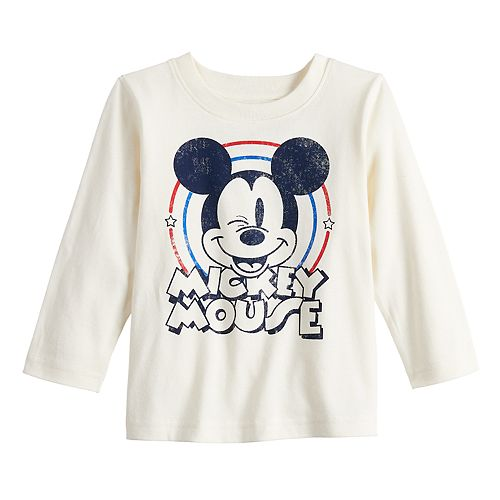 Toddler Boy Disney's Mickey Mouse Long-Sleeve Jersey Tee by Jumping Beans®