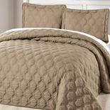 Serenta Bradley Alternative 3-Piece Bedspread and Sham Set