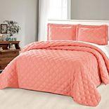 Serenta Charleston Down Alternative 3-Piece Bedspread and Sham Set