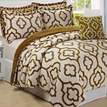 Jacquard Sherpa 6 Piece Bed Spread Set