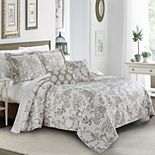 La Boheme 5 Piece Quilted Printed Bed Spread