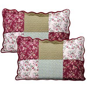 Serenta Patchwork 8-Piece Bedspread and Sham Set