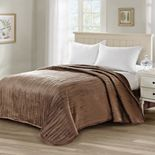 Soft Micro Plush Quilted Coverlet