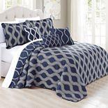 Charleston Printed Quilt 6-Piece Bed Spread Set