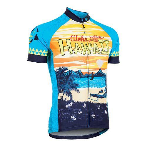 Men's Canari Hawaii Retro Souvenir Cycling Jersey