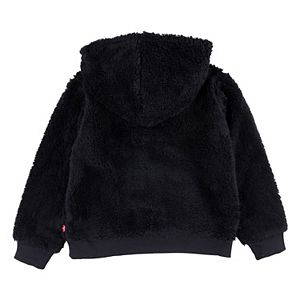 Girls 7-16 Levi's® Sherpa Batwing Pullover Hoodie
