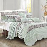 Royal Scroll 9-Piece Bed Spread Set