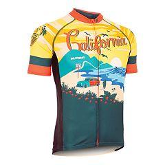 Men's Canari California Retro Souvenir Cycling Jersey