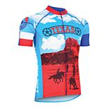 Men's Texas Retro Souvenir Cycling Jersey