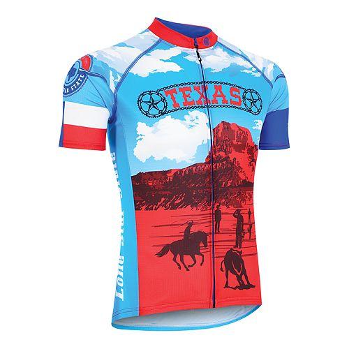 Men's Texas Retro Souvenir Cycling Jersey