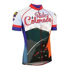 Men's Canari Colorado Retro Souvenir Cycling Jersey