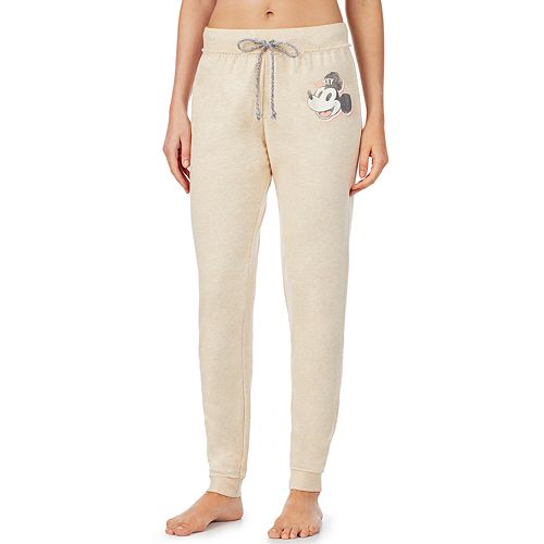 Women's Mickey Mouse Raw Edge Sleep Pant