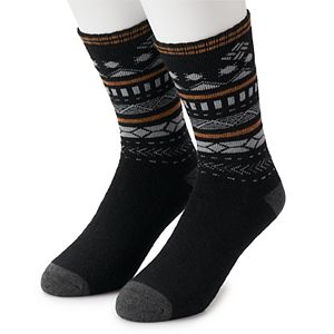 Men's Columbia Fairisle Wool 2pk Crew