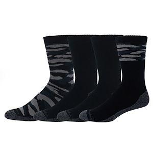 Men's Columbia 4-pack Space-Dye Crew Socks